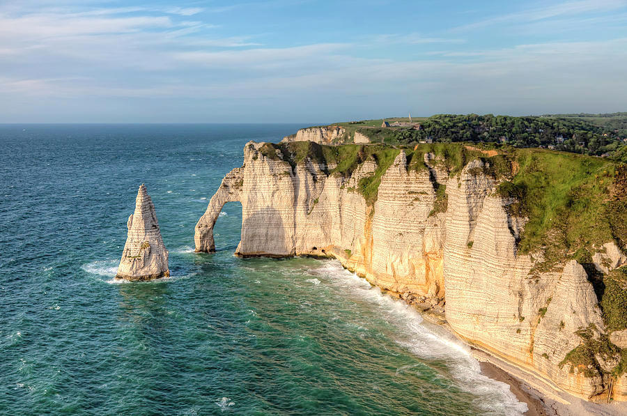 Etretat-France-Needle-Cliff