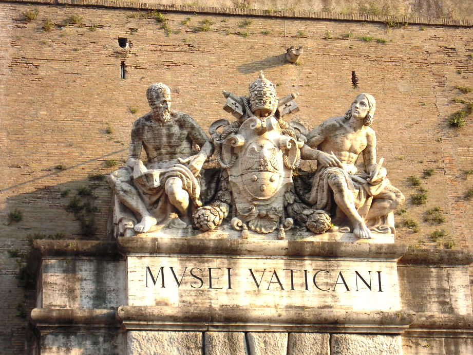 Vatican Museums Sign