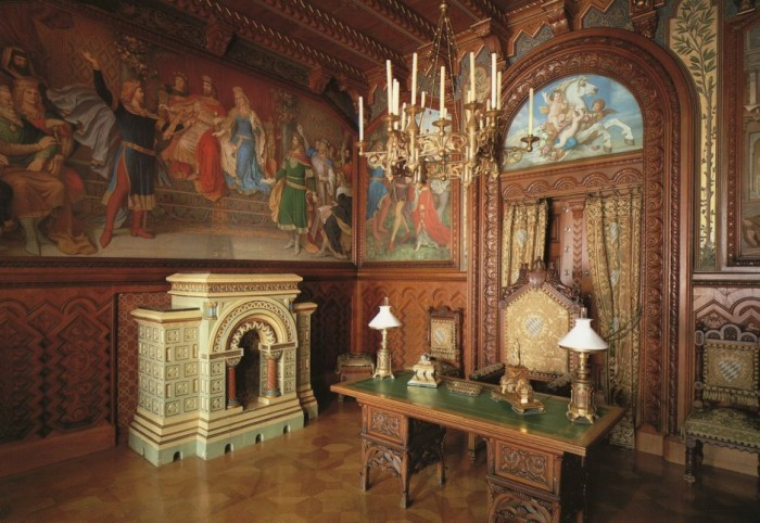 Neuschwanstein-Castle-Interior
