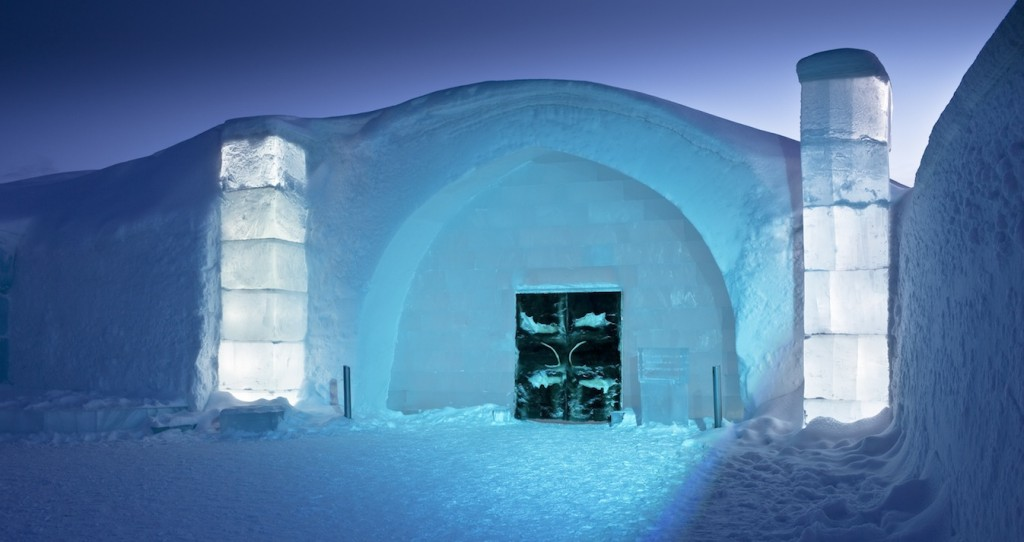 ice hotel (outside)